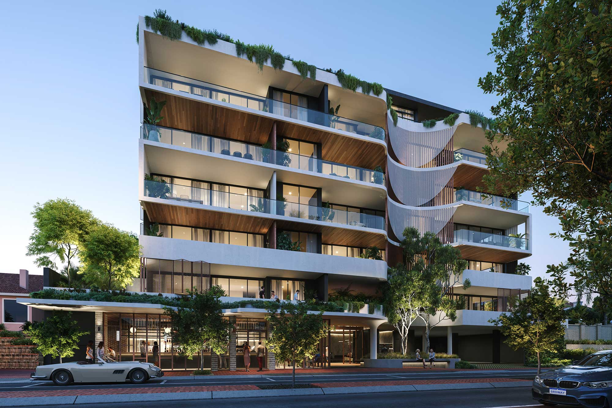 Melvista on Broadway - Nedlands apartments - Luxury best apartments Perth